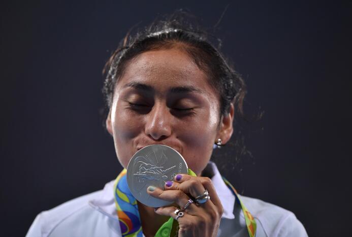 Lupita González, la guerrera del atletismo mexicano GettyImages-59222443...