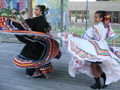 El Ballet Folklórico de MECA es ya reconocido en la ciudad debido...