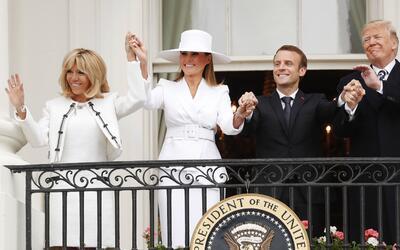 Promo Trump Macron