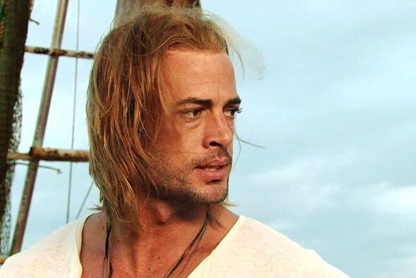 "William Levy lucía una melena larga y sedosa en ""La Tempestad"" pero, ¡le..."