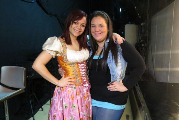 Ana Cristina Pagán y Yazaira López se juntaron en el foro.