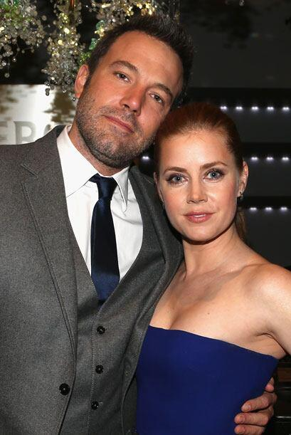 Ben Affleck con Amy Adams.