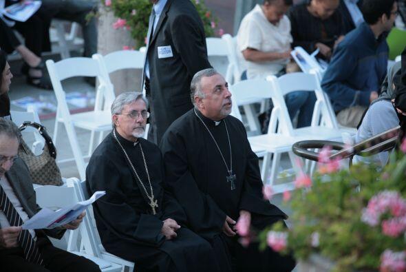 El evento fue diseñado como un acto de unidad entre las distintas religi...