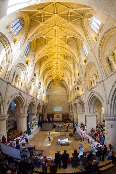 Por séptimo año consecutivo la antigua iglesia de Malmesbury acopla sus...