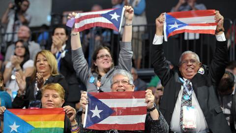 Delegación de Puerto Rico en la Convención Demócrat...