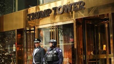En fotos: así luce la seguridad a la Torre Trump en la ciudad de Nueva York