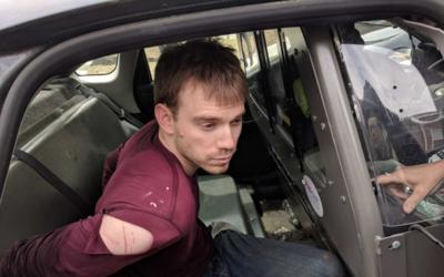 Reinking es sacado de la patrulla de policía de Nashville, al fin...