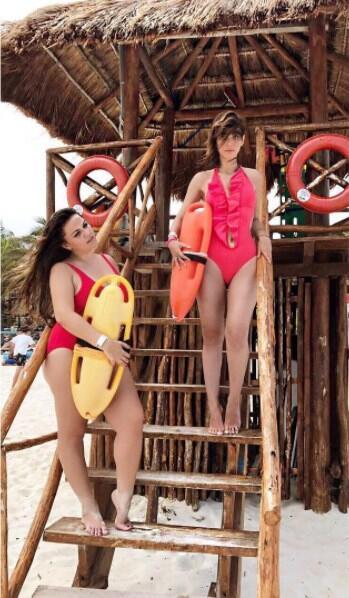Natalia Téllez en bikini