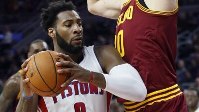 Pistons de Detroit vencieron el martes 104-99 a los Cavaliers de Cleveland.