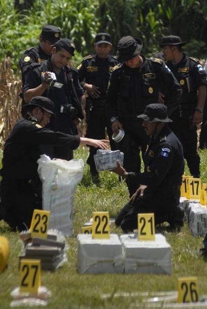 Aunque estas son las bandas cuya operación en territorio guatemalteco es...