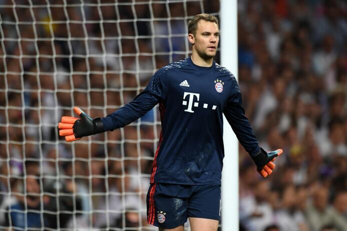 Mejor portero: Manuel Neuer (F.C. Bayern Múnich)