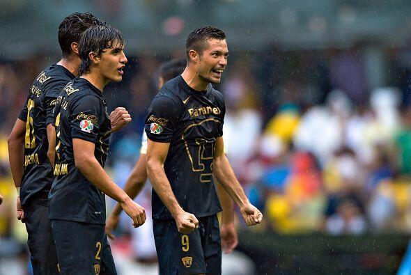 17.- Pumas.- Con la tranquilidad de haber derrotado al América, la UNAM...