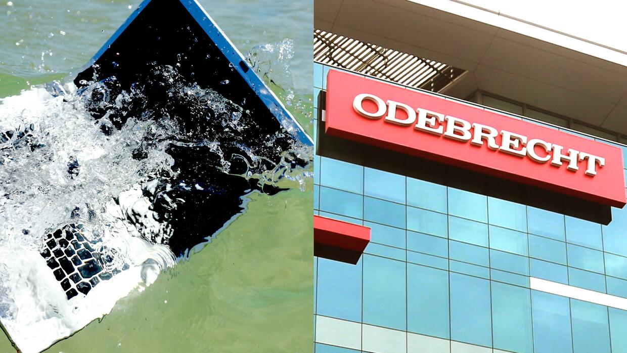 Odebrecht laptop missing at sea
