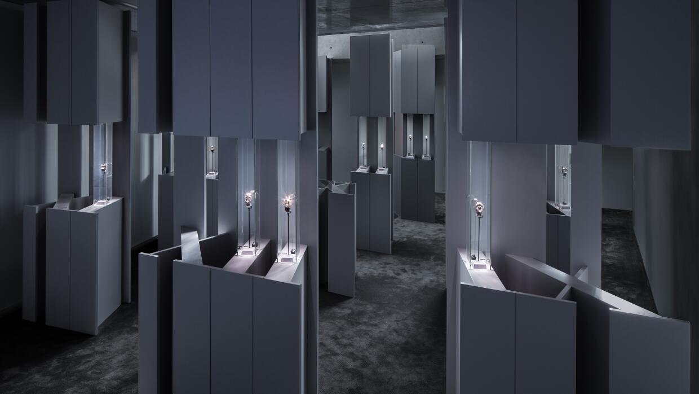 Proyecto: Exposición temporal Cartier Shape Your Time, Tokio, 2014