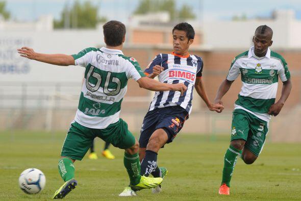 El rendimiento colectivo de Santos ha sido muy parejo, lo que lo llev&oa...