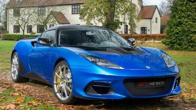 Lotus Evora GT410 Sport, el más aerodinámico