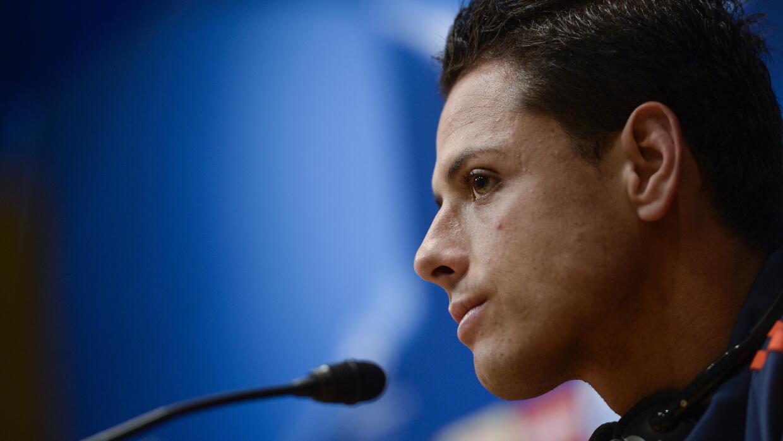 Javier Hernández habló sobre su carrera como profesional.