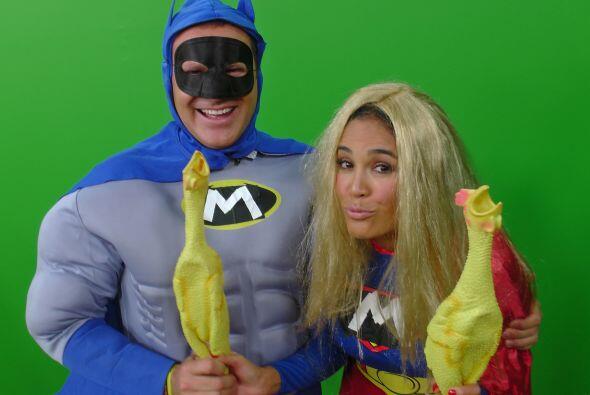 Los Superhéroes también hicieron de las suyas y nos regalaron momentos m...