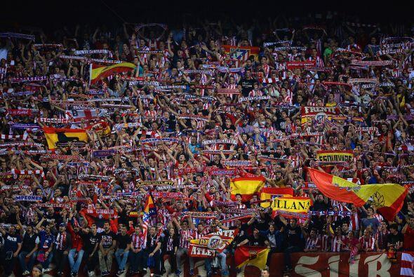 El público del Calderón podía sentir la victoria de los suyos.