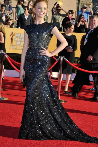En 2012, la lista cambió un poco y entre las mejores vestidas destacó Ja...