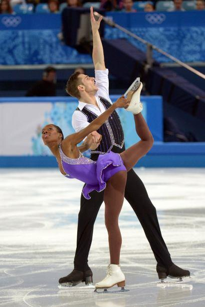 Los franceses Morgan Cipres y Vanessa James, pura adrenalina en los JJOO...