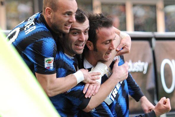 'Gianpa' abrió el camino a la victoria del equipo local.