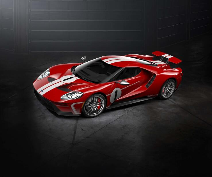 Ford GT '67 Heritage Edition 2018