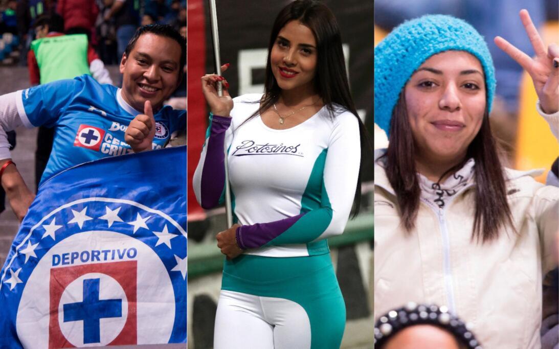 Porristas y fanáticos de Cruz Azul y Atlas en Copa MX collage-sin-titulo...