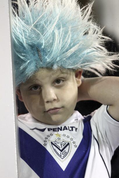 ´Soy hincha del club Vélez Sarsfield y alguien me puso esta peluca, adem...