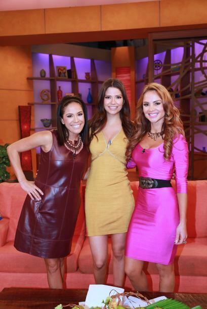 Karla, Ana y Ximena listas para recibir a Espinoza Paz y al elenco de la...