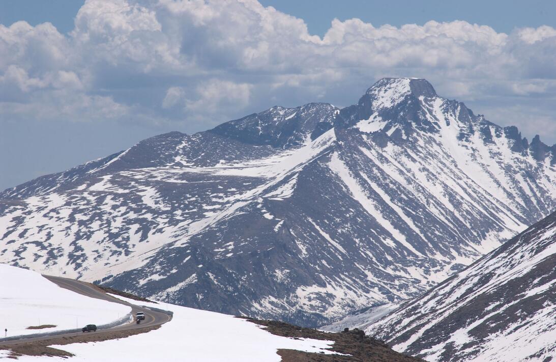 Así se ven los parques nacionales de Estados Unidos cubiertos de nieve...