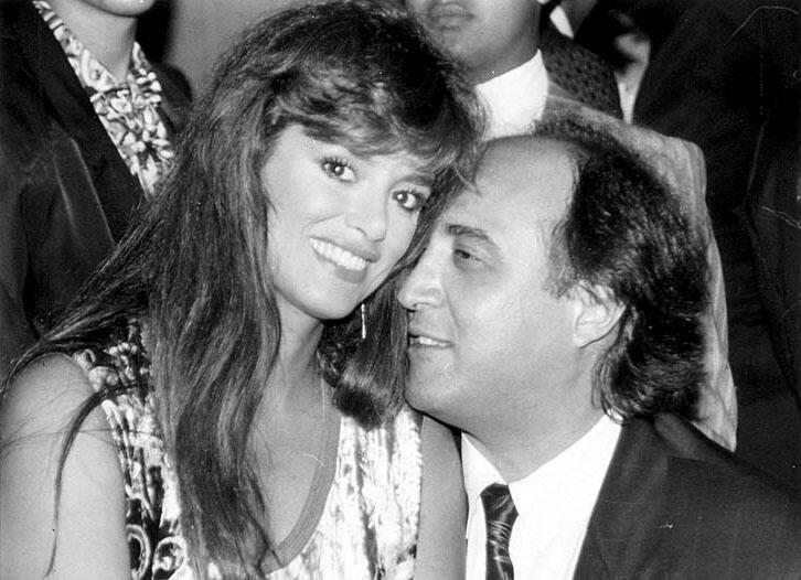 Lucía Méndez y Pedro Torres