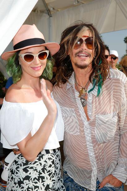 Steven Tyler apoyará a Katy Perry y a los Patriotas.