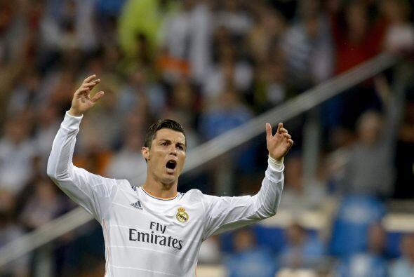 Cristiano Ronaldo no parecía estar en su mejor día frente al arco rival.