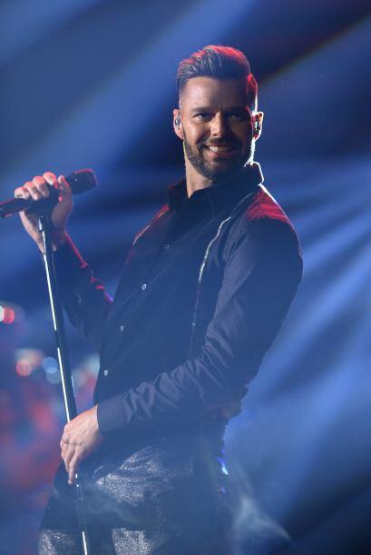 """Ricky Martin: """"Hoy los ángeles están de fiesta. Llego el único e inigual..."""