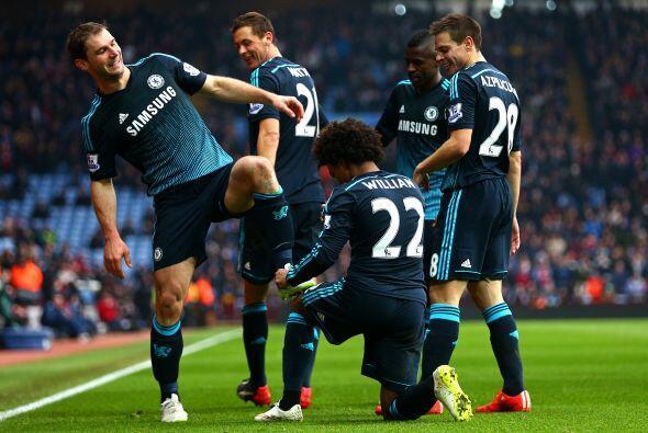 Birmingham, Inglaterra - 07 de febrero: Branislav Ivanovic del Chelsea c...