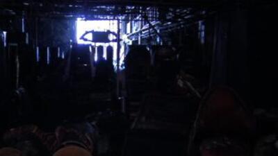 Así quedó el Casino Royale por dentro tras los ataques en los que murier...