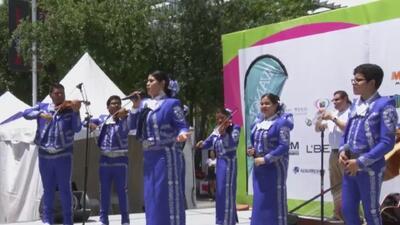 En medio de mucha diversión y música se celebró el 'Latino Street Fest'