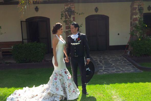 Uno de esos pocos momentos en que Ana Patricia y Luis Carlos pudieron ch...