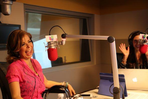 Gloria Trevi con Omar y Argelia