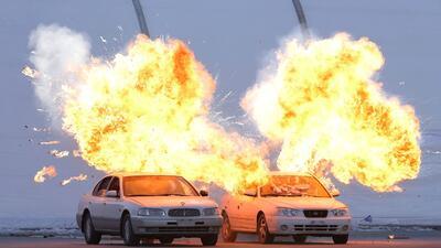 Intenso entrenamiento antiterrorista para los Olímpicos de Invierno en Corea del Sur