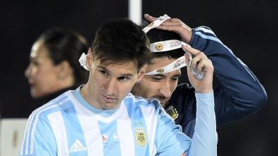 El argentino rechazó el premio al Mejor Jugador de la Copa América.