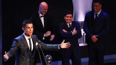Ronaldo en The Best