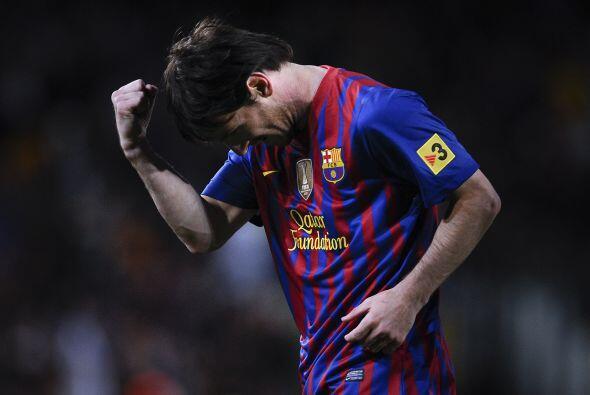 Pero 'La Pulga' quería más y marcó el tercero del partido y de su cuenta...