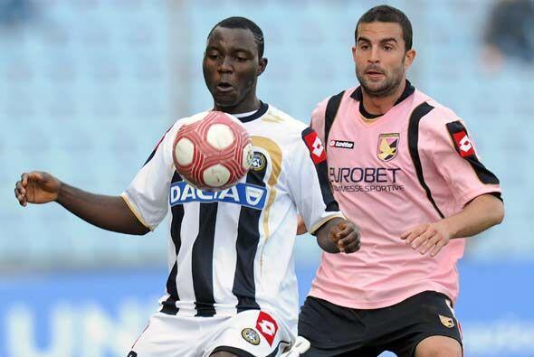 En otro duelo destacado, Udinese recibió la visita del Palermo.