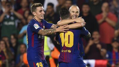 Barcelona vs. Málaga