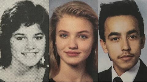 Jenni Rivera, su hermano Lupillo y la actriz Cameron Díaz se graduaron e...