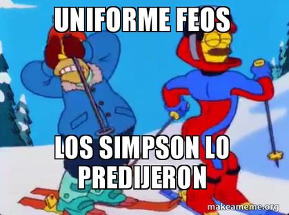 Memes del uniforme de México para los Juegos Olímpicos de Invierno  capt...