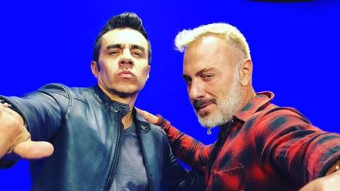 Adrián Uribe y Gianluca