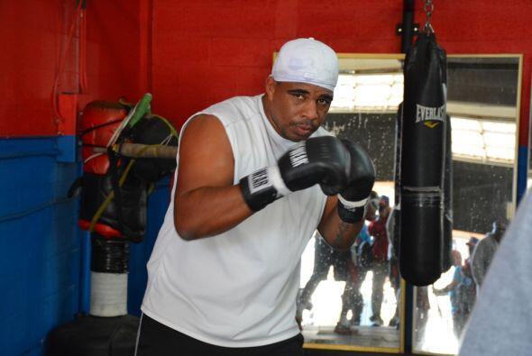 El Peso pesado cubano Odlanier Solís está entrenando para su revancha co...